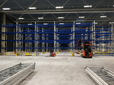 Warehouse and pallet racking system in Tallinn