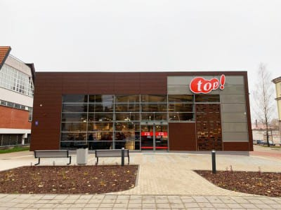 "Retail chain ""TOP"" - Cesis, Lettland"